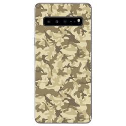 Funda Gel Tpu para Samsung Galaxy S10 5G diseño Sand Camuflaje Dibujos