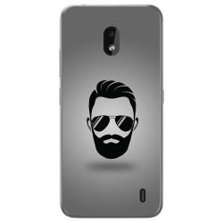 Funda Gel Tpu para Nokia 2.2 diseño Barba Dibujos