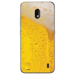 Funda Gel Tpu para Nokia 2.2 diseño Cerveza Dibujos