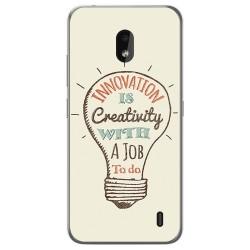 Funda Gel Tpu para Nokia 2.2 diseño Creativity Dibujos