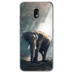 Funda Gel Tpu para Nokia 2.2 diseño Elefante Dibujos