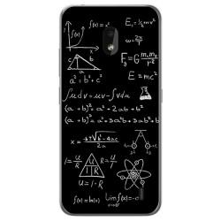 Funda Gel Tpu para Nokia 2.2 diseño Formulas Dibujos