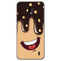 Funda Gel Tpu para Nokia 2.2 diseño Helado Chocolate Dibujos