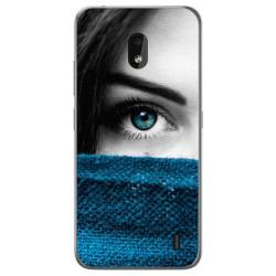 Funda Gel Tpu para Nokia 2.2 diseño Ojo Dibujos
