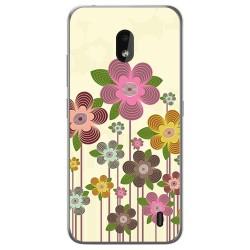 Funda Gel Tpu para Nokia 2.2 diseño Primavera En Flor Dibujos