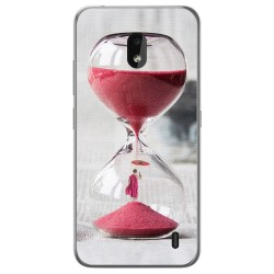 Funda Gel Tpu para Nokia 2.2 diseño Reloj Dibujos