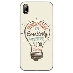 Funda Gel Tpu para Huawei Y5 2019 diseño Creativity Dibujos