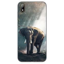 Funda Gel Tpu para Huawei Y5 2019 diseño Elefante Dibujos