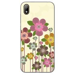 Funda Gel Tpu para Huawei Y5 2019 diseño Primavera En Flor Dibujos