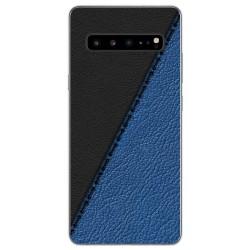 Funda Gel Tpu para Samsung Galaxy S10 5G diseño Cuero 02 Dibujos