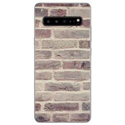 Funda Gel Tpu para Samsung Galaxy S10 5G diseño Ladrillo 01 Dibujos