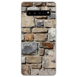 Funda Gel Tpu para Samsung Galaxy S10 5G diseño Ladrillo 03 Dibujos
