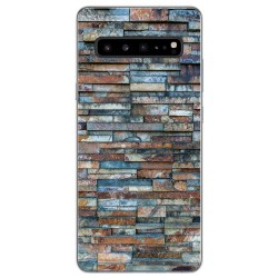 Funda Gel Tpu para Samsung Galaxy S10 5G diseño Ladrillo 05 Dibujos