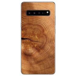 Funda Gel Tpu para Samsung Galaxy S10 5G diseño Madera 04 Dibujos