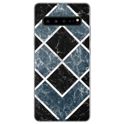 Funda Gel Tpu para Samsung Galaxy S10 5G diseño Mármol 06 Dibujos
