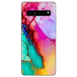 Funda Gel Tpu para Samsung Galaxy S10 5G diseño Mármol 15 Dibujos