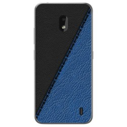 Funda Gel Tpu para Nokia 2.2 diseño Cuero 02 Dibujos