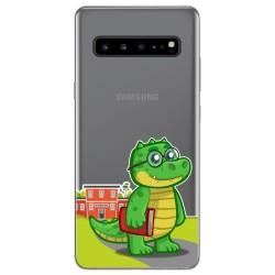 Funda Gel Transparente para Samsung Galaxy S10 5G diseño Coco Dibujos