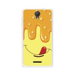 "Funda Gel Tpu para Alcatel Pixi 4 (5"") 3G Diseño Helado Vainilla Dibujos"