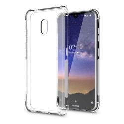 Funda Gel Tpu Anti-Shock Transparente para Nokia 2.2