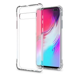Funda Gel Tpu Anti-Shock Transparente para Samsung Galaxy S10 5G