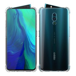 Funda Gel Tpu Anti-Shock Transparente para Oppo Reno Z