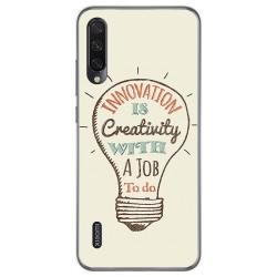 Funda Gel Tpu para Xiaomi Mi A3 diseño Creativity Dibujos