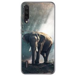 Funda Gel Tpu para Xiaomi Mi A3 diseño Elefante Dibujos