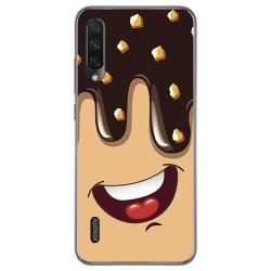 Funda Gel Tpu para Xiaomi Mi A3 diseño Helado Chocolate Dibujos