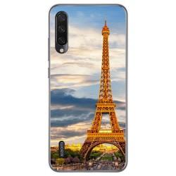 Funda Gel Tpu para Xiaomi Mi A3 diseño Paris Dibujos