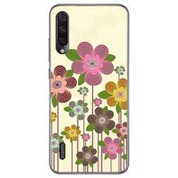 Funda Gel Tpu para Xiaomi Mi A3 diseño Primavera En Flor Dibujos