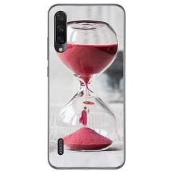 Funda Gel Tpu para Xiaomi Mi A3 diseño Reloj Dibujos