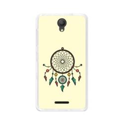 "Funda Gel Tpu para Alcatel Pixi 4 (5"") 3G Diseño Atrapasueños Dibujos"