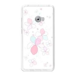Funda Gel Tpu para Xiaomi Mi Note 2 5.7 Diseño Flores-Minimal Dibujos