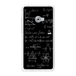 Funda Gel Tpu para Xiaomi Mi Note 2 5.7 Diseño Formulas Dibujos