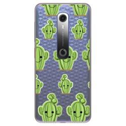 Funda Gel Transparente para Vodafone Smart N10 diseño Cactus Dibujos