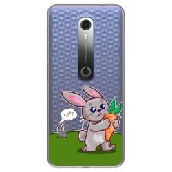 Funda Gel Transparente para Vodafone Smart N10 diseño Conejo Dibujos