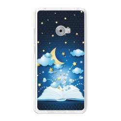Funda Gel Tpu para Xiaomi Mi Note 2 5.7 Diseño Libro-Cuentos Dibujos
