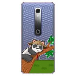 Funda Gel Transparente para Vodafone Smart N10 diseño Panda Dibujos