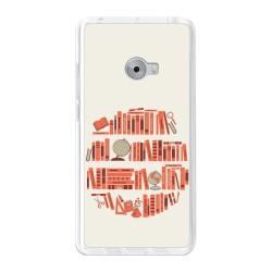 Funda Gel Tpu para Xiaomi Mi Note 2 5.7 Diseño Mundo-Libro Dibujos
