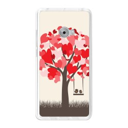 Funda Gel Tpu para Xiaomi Mi Note 2 5.7 Diseño Pajaritos Dibujos