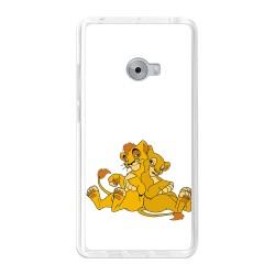 Funda Gel Tpu para Xiaomi Mi Note 2 5.7 Diseño Leones Dibujos