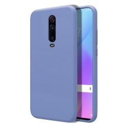 Funda Silicona Líquida Ultra Suave para Xiaomi Mi 9T color Azul Celeste
