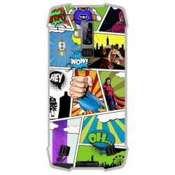 Funda Gel Tpu para Blackview BV9700 Pro diseño Comic Dibujos