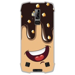 Funda Gel Tpu para Blackview BV9700 Pro diseño Helado Chocolate Dibujos
