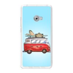 Funda Gel Tpu para Xiaomi Mi Note 2 5.7 Diseño Furgoneta Dibujos