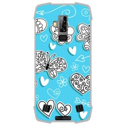 Funda Gel Tpu para Blackview BV9700 Pro diseño Mariposas Dibujos