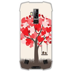 Funda Gel Tpu para Blackview BV9700 Pro diseño Pajaritos Dibujos