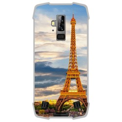 Funda Gel Tpu para Blackview BV9700 Pro diseño Paris Dibujos