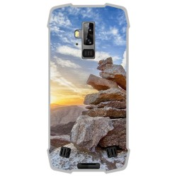 Funda Gel Tpu para Blackview BV9700 Pro diseño Sunset Dibujos